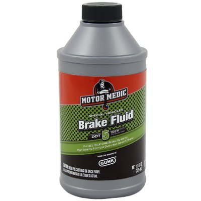 11OZ Sili Brake Fluid by Radiator Specialty