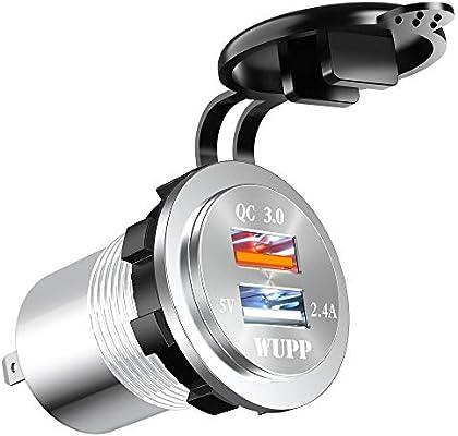 Amazon.com: BlueFire - Cargador USB 3.0 de carga rápida, de ...
