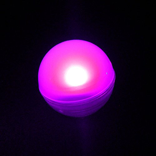 KITOSUN Magical Light Berry LED Ball Floating LED Vase Light Firefly Effect Glowing Pearl with Battery 3/4 diamter for Baby Shower Wedding Centerpiece Floral (Pack of 12) (Pink)