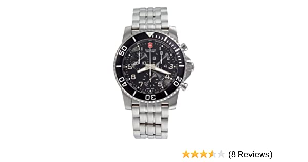 Amazon.com: Victorinox Swiss Army Mens 24144 Maverick II Chronograph Black Dial Watch: Victorinox Swiss Army: Watches