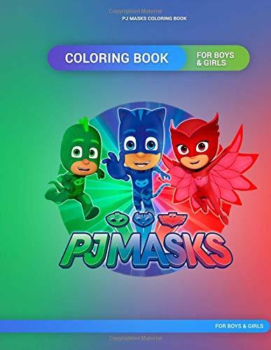 Pj Masks Coloring Book