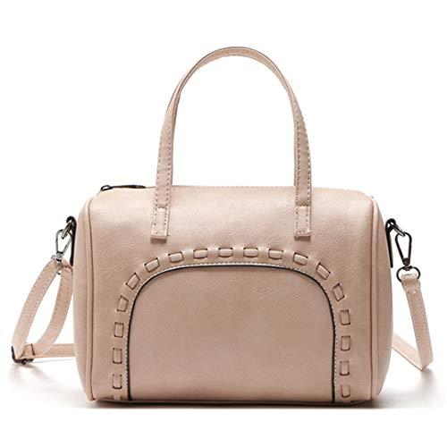 Boston Pillow Ladies Pink Vintage Handbags Tote Shoulder qAAErw
