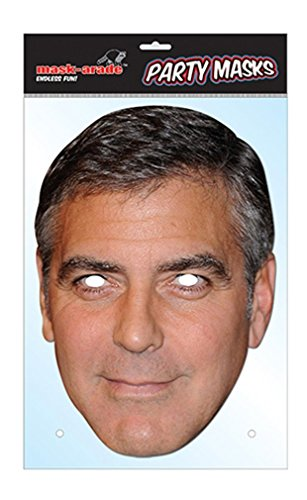 George Clooney Celebrity Face (Celebrity Quality Costumes)