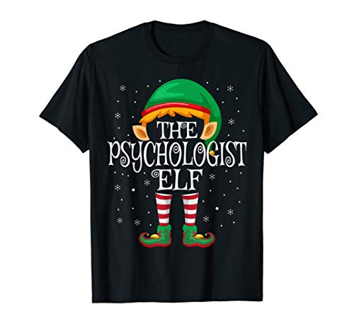 The Psychologist Elf Family Matching Group Christmas T-Shirt