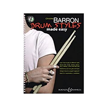 Hal Leonard Drum Styles Made Easy (Book and CD)