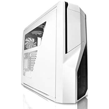 NZXT Phantom 410 Computer Case , White (CA-PH410-W1)