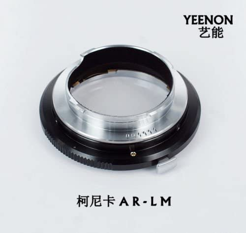 No rangefinder coupled YEENON Konica AR Lens to Leica M LM Mount Adapter