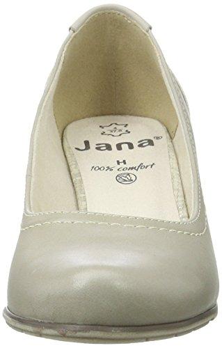 Jana Damen 22404 Pumps Grau (LT. GREY 204)