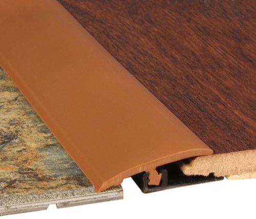 Cal-Flor TT10455S Total Trim All-in-One Solid Color Molding, 46-Inch, Cinnamon