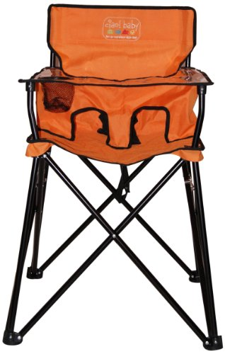 ciao! baby Portable Highchair, Orange -  HB2002