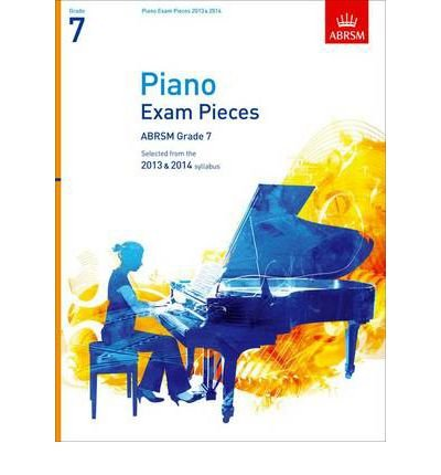 Download Piano Exam Pieces ABRSM Grade 7: Selected from the 2013 & 2014 Syllabus (Abrsm Exam Pieces) (Sheet music) - Common PDF
