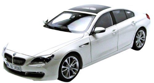 PARAGON 1/18 - PA-97032 BMW 6 SERIES GRAN COUPE - ALPINE WHITE