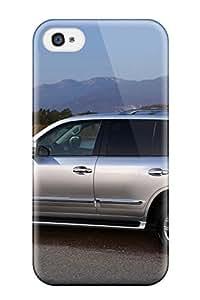 Premium Lexus Lx 570 3 Heavy-duty Protection Case For Iphone 4/4s