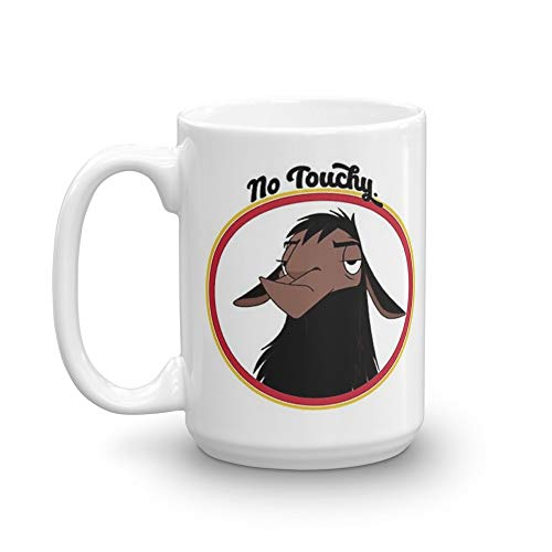 Kuzco NO TOUCHY sad llama emperor's new groove emperor david spade back off no touch funny gift. 15 Oz Mugs Makes The Perfect Gift For Everyone