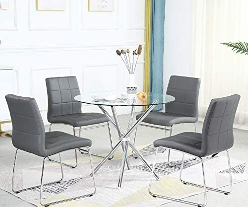 Bacyion 5 Pieces Dining Table Set