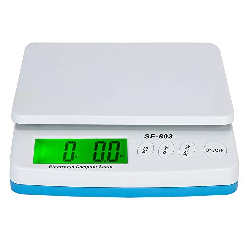 Candora 30KG/1G High Precision LCD Digital Postal Shipping Scale with adapter (Best Scale App For Weed)