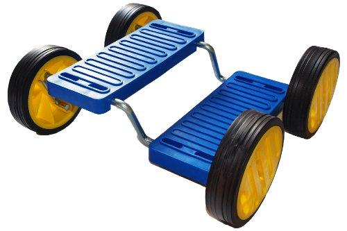 Pedal Go (aka Step Fun) - BLUE + Flames N Games Travel Bag.