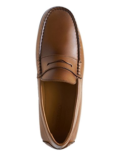 Penny Sebago Men's Leather Loafers Tirso Tan Brown PPxBWO4