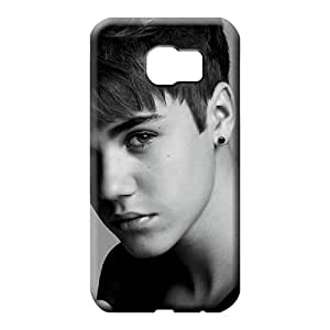 samsung galaxy s6 mobile phone carrying skins Retail Packaging Shock Absorbing Forever Collectibles Justin Beiber Pattern