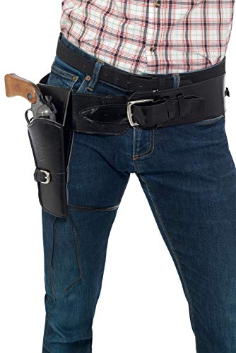 Smiffy's Cowboy Costume Holster with Belt - Black for $<!--$15.37-->