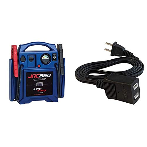 Cheapest Prices! Clore Automotive Jump-N-Carry JNC660 1700 Peak Amp 12 Volt Jump Starter + Jump-N-Ca...