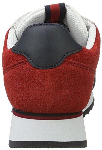 Hilfiger Denim Ladies Sm D1385angel 3c1 Multicolore Sneaker (rwb)