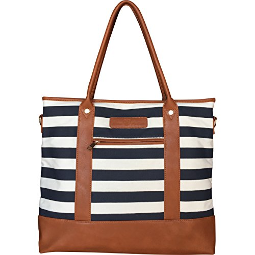 large-lightweight-diaper-bag-with-changing-pad-navy-stripe-updated-version