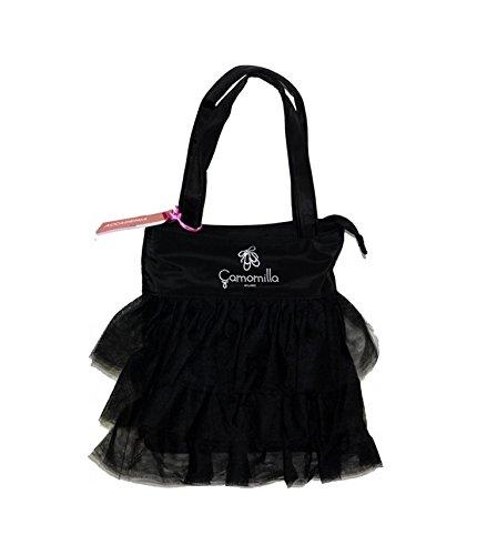 Camomilla Milano , Damen Schultertasche schwarz schwarz