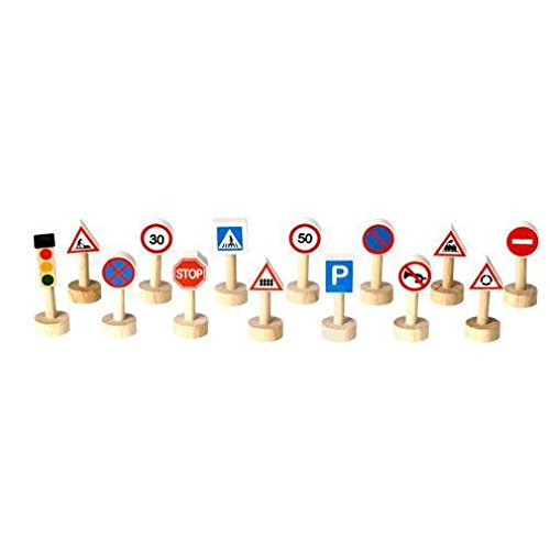PlanToys City Series Set Of Traffic Sign and Light for sale  Delivered anywhere in USA