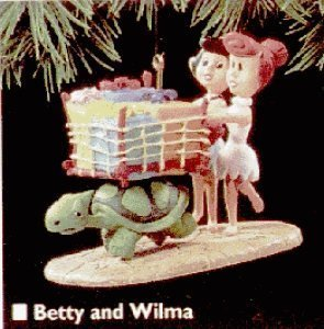 Hallmark Keepsake Ornament The Flintstones 1995 Betty and -
