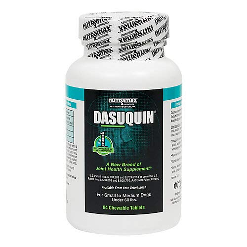 Dasuquin Chewable Tablets for Small/Med Dogs 84ct