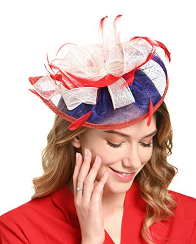 Fascinators Hat for Women Kentucky Derby Headband Wedding