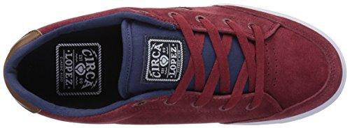 C1RCA Lopez  50 - zapatilla deportiva de piel Unisex adulto Brick/dark Navy