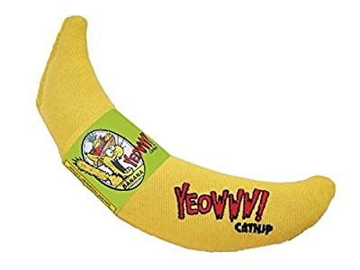 Yeowww! Catnip Toy, Yellow Banana by Yeowww!