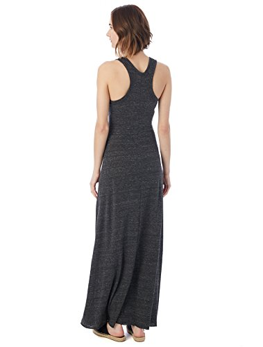 Racerback Women's Dress Dress Maxi Alternative Black Eco g0Taq8wv