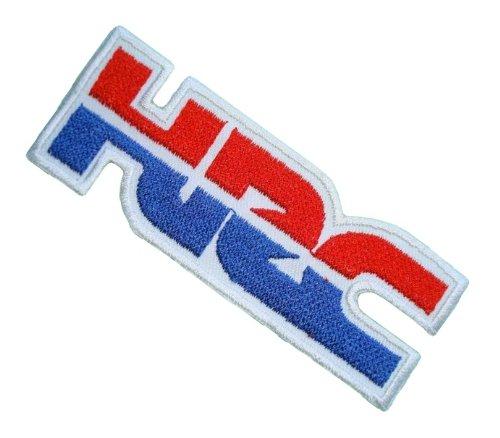 Hrc Honda Racing Motorcycles Motocross Shirt Blue Bh09 Iron On Patches