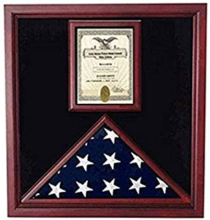 product image for Flag and Document Case - Vertical 8 1/2 x 11 Document for Hanging Medals and Other Memorabilia.