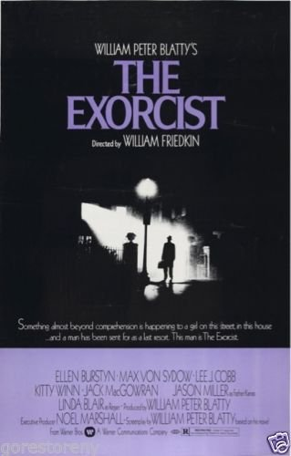"The Exorcist  Movie Poster 24""x36"""