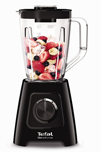 Tefal BL420840 Blendforce II Blender with Plastic Jug, 600 W, 1.5 liters, Black