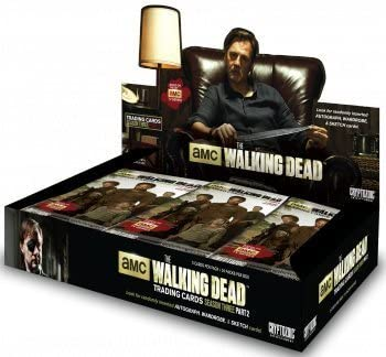 The Walking Dead - Season 3 Part 2 Trading Cards Sealed Hobby Box - HOT!!! by Cryptozoic Entertainment by Cryptozoic Entertainment: Amazon.es: Juguetes y juegos