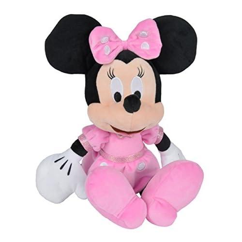 Simba 6315874847–Disney Peluche figurine, Minnie, 35cm