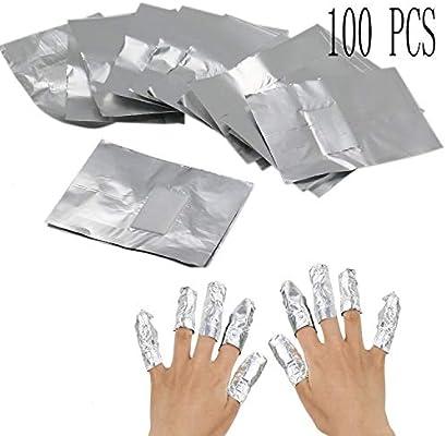 Gel quitaesmalte de uñas, 100 piezas removedor de esmalte de uñas ...