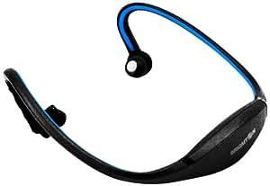 Brigmton BAU-M2 lector y grabador de MP3 - Reproductor MP3 (2 GB, MP3, WMA, 8000 - 48000 Hz, USB 2.0, 6 h, Ión de litio) Negro, Azul