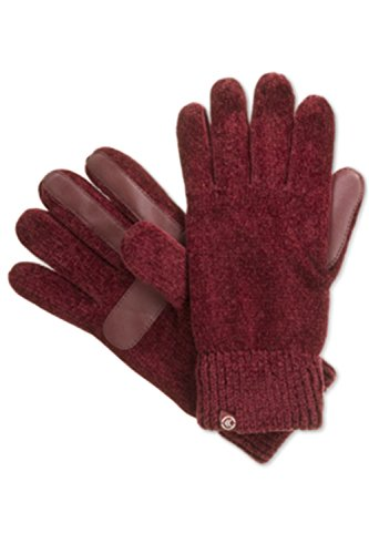 Price comparison product image isotoner Signature Women's smarTouch Solid Chenille Knit Gloves w/ Palms