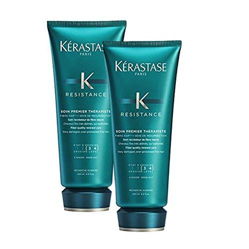 - Bundle - 2 Items : Kerastase Resistance Soin Premier Therapiste Pre Shampoo Treatment, 6.8 Oz (Pack of 2)