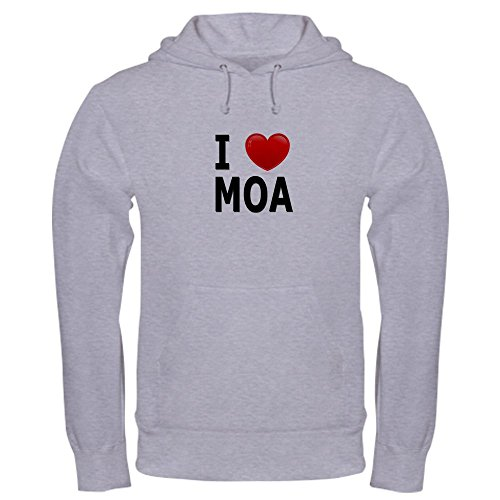 CafePress - I Love MOA - Pullover Hoodie, Classic & Comfortable Hooded - Mall Bloomington Shopping