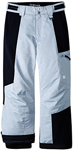 Sunice Boys Laser Technical Pant, Grey Texture, 10 by Sunice