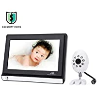 Security IP Camera 7.0 Inch 2.4GHz Wireless Baby Monitor Infrared TFT LCD Video CMOS Night Vision Surveillance Camera
