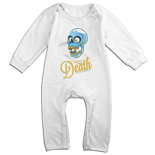 Young Britney Spears Costume (Raymond Earn Your Death Long Sleeve Bodysuit Outfits White 24 Months)