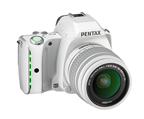 Pentax K-S1 SLR Lens Kit with DA L 18-55 mm Lens (White)